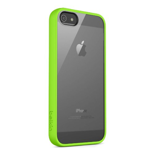 Belkin View Case / Cover for iPhone 5 and 5S (Green)