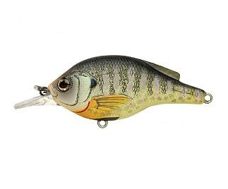 Today Sale Koppers Flat Sided Suspending Crank Lure, 2-3/4-Inch, Bluegill Metallic