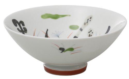 有田焼 匠の蔵 口福(こうふく)なお茶漬け碗シリーズ 碗 (小) つくし T7232