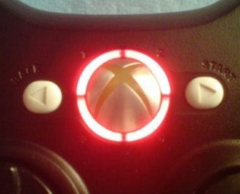 Xbox 360 controller led mod RING OF LIGHT LEDS- RED