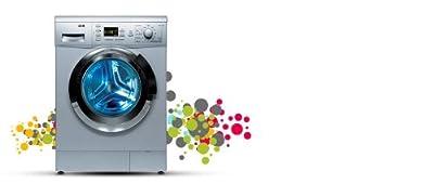 IFB Senorita Aqua SX Fully-automatic Front-loading Washing Machine (6.5 Kg, Silver)