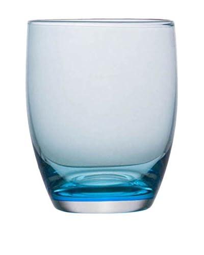 Guy DeGrenne Set of 6 9.8-Oz. Allegro Tumblers, Blue Mint