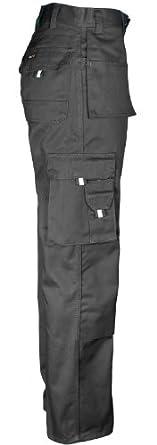 Tuff Stuff Professional Work Trouser for Mens Heavy Duty Inner Leg 30 Inch Regular (34, Black)