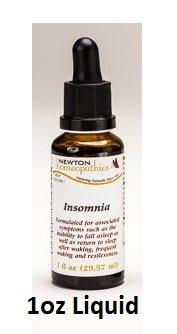 Newton Labs Homeopathics Remedy Insomnia 1oz Liquid (2 Pack)