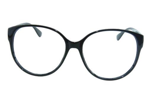 I'S Colour Retro Korean Cute Fashion Style Big Round Nerd Lenless Glasses Frame