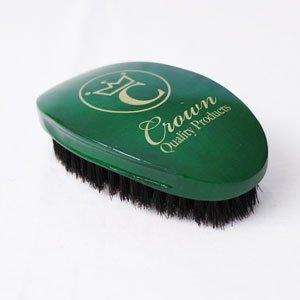 360-gold-emerald-green-caesar-brush-soft-100-boar-bristles