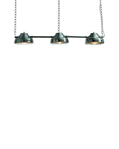 Arteriors Home Flanagon Pendant, Vintage Silver