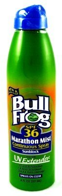 Bull Frog SPF#36 Marathon Mist Continuous Spray 177 ml (Case of 6)