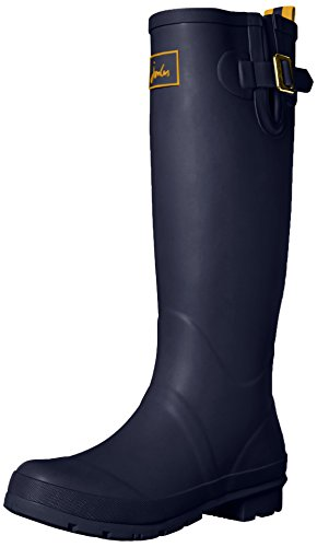 Joules Women's Field Welly Rain Boot, French Navy, 7 M US (Rain Boots Blue compare prices)