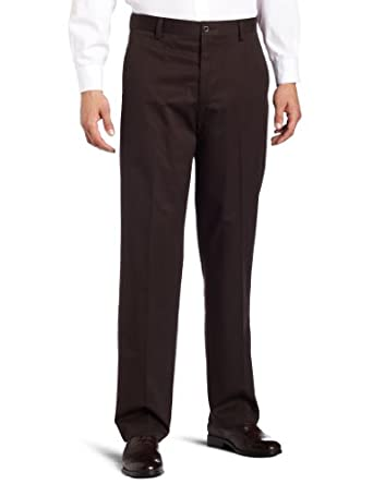 Dockers Mens D3 Flat Front New Iron Free Khaki Pant, After Dark, 30x32