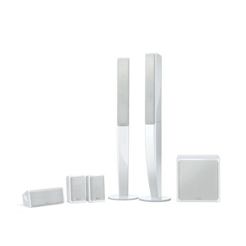 Yamaha NS-PA40WH 5.1 Speaker Package (White, Set of 6)