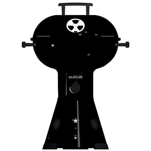 M.iGrill Gas Portable Grill w/ Speakers