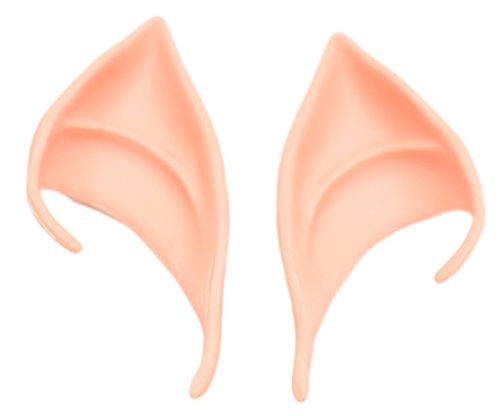 [PEPUJP Adult Elf Cosplay Accessories Ear Cuff One Size Natural Skin Color] (1960s Batman And Robin Costumes)