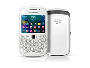 Blackberry Curve 9320 White WiFi Keyboard Unlocked QuadBand Cell Phone