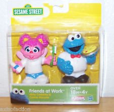 Sesame Street Friends At Work Abby Cadabby & Cookie Monster