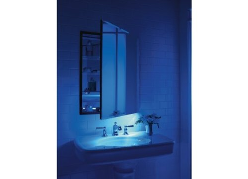 Robern MP24D4FLJ Flat Mirrored Door, 23-1/4