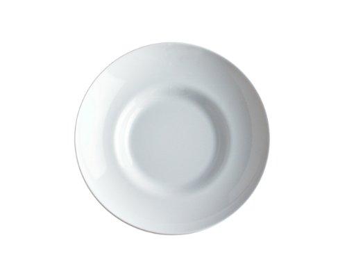 A di Alessi Mami Assiette creuse en porcelaine - Blanc - Set de 6 pièces