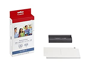 Canon 7737A001 KP-36IP photo paper inkjet 100x148mm 36 Blatt 50er-Pack with ink cassette for CP-100
