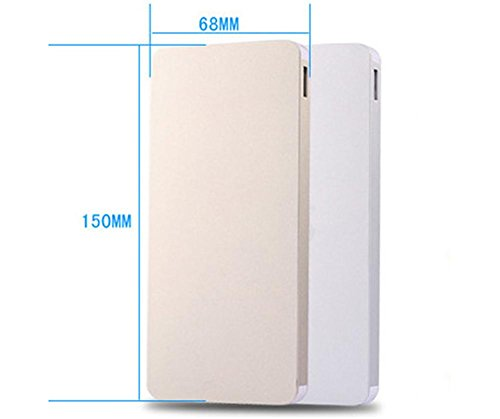 Generisches 50000mAh Dual USB Output-Energien-Bank-Ladegerät External Battery Pack für iPhone Samsung HTC und Most Weitere Smartphones (Gold)