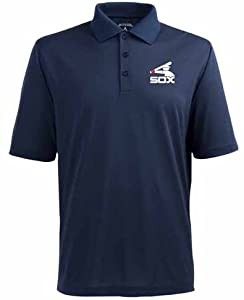 Chicago White Sox Pique Xtra Lite Polo Shirt (Cooperstown) by Antigua
