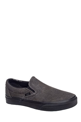 Men's Washed Classic Slip-On Sneaker
