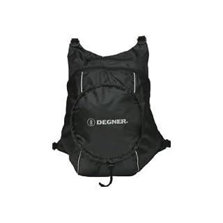 デグナー DEGNER エコリュックサック ブラック/ブラック NB-32