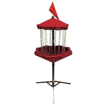 Innova Skillshot Disc Golf Basket - Red