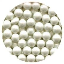 Ck Products Candy Beads Pearl White 7mm 3.5 oz.