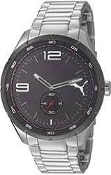 Puma Speed metal Silver Black Quartz Watch PU103111002
