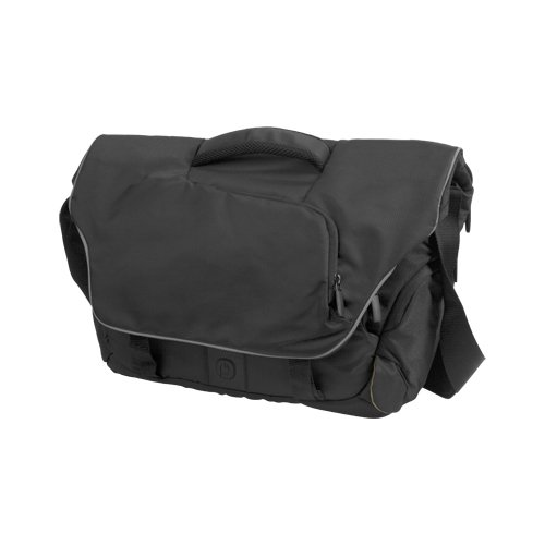 Powerbag Instant Messenger Laptop Bag with Battery for Charging Smartphones, Tablets and eReaders (RFAP-0015P)