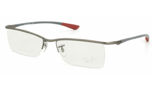 Ray Ban RX8706 Tech Eyeglasses-1073 Matte Gunmetal-54mm Reviews