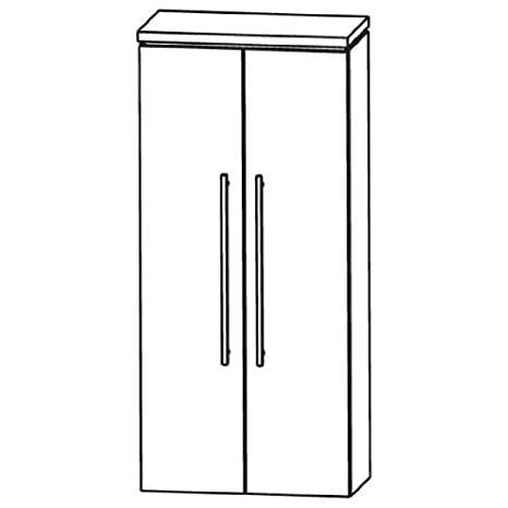 Cool Puris Line (MNA846A5 Bathroom Cabinet 60 CM