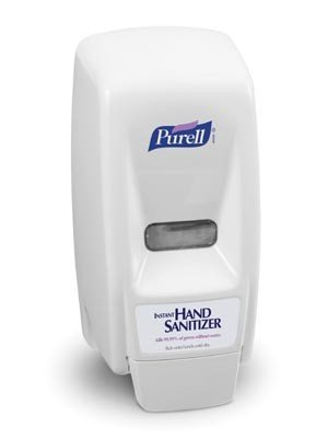 GOJO PURELL DISPENSERS 1000 Dispenser White (for 7187 refills only) 12/cs