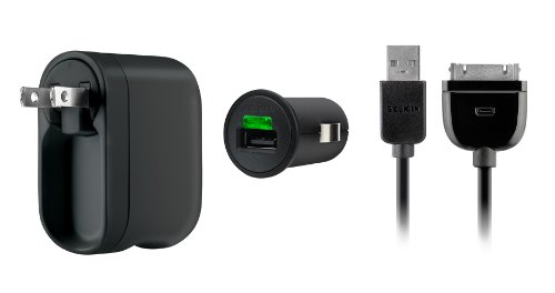 Belkin Charger Kit for the New Apple iPad 2 / 3rd Generation