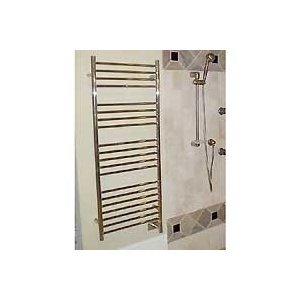 Jeeves - Dsp-20 - D Straight Electric Towel Warmer - Polished Chrome - 52.75 In. Tall