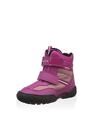 Geox Botas de invierno B Gulp Girl B Wpf A (Rosa Oscuro)