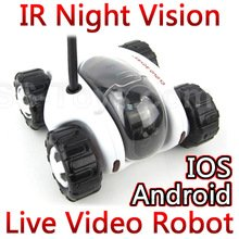 security system Cloud Rover Wifi iOS Android Remote Control RC Car cars Spy Tank Robot with ip camera FSWB (Remote Control Spy Robot compare prices)
