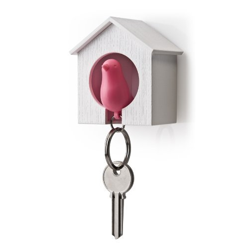 sparrow-and-house-keyring-set-pink