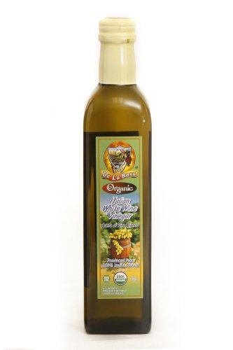 De La Rosa Organic White Wine Vinegar - 500 ml