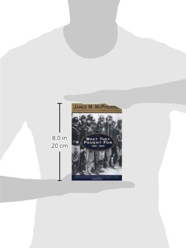what they fought fo 1861 - 1865 this book was a good analysis of civil war soldiers' diaries, and letters to their loved ones which explains what they were going through in their lives and what they fought for and risked their lives for in this conflict.