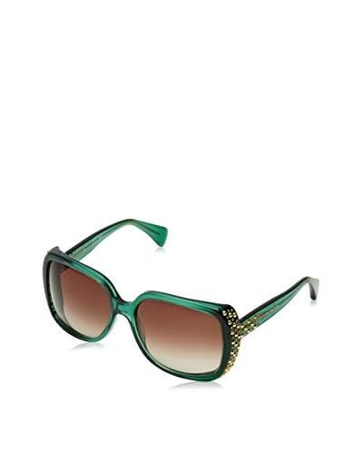 Alexander McQueen Gafas de Sol AMQ 4211/S Woman Verde