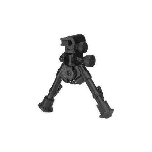 150-050 Versa-Pod Sniper Pod Extra-Short Bipod 50 Series Tactical With Pan Tilt & Lock Controls 5 to 7 Rubber Feet