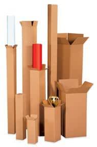 BOX121224 - 12 x 12 x 24 Tall Corrugated Boxes
