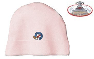 Embroidered Infant Rib Knit Beanie with the image of: carpet cleaning logo