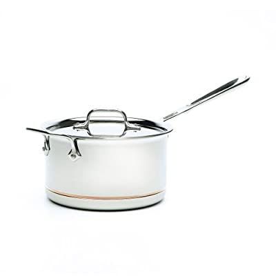 All-Clad 6201.5 SS Copper Core 5-Ply Bonded Dishwasher Safe Saucepan Cookware