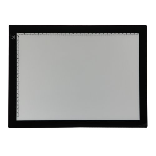Dbpower(Us Seller) Ultra Thin Led Stencil Tracing Light Box Table, 3.6W, 9.5-By-13 Inch