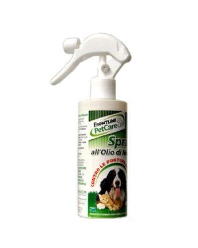 Frontline PetCare Spray all'Olio di Neem 200 ml - Antiparassitario soluzione spray per cani e gatti, contro le punture di insetti