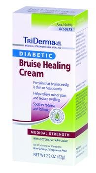 TriDerma Diabetic Bruise Healing Cream - 2.2 oz