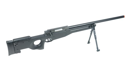 UTG AccuShot Competition Shadow Ops Sniper Rifle, Black