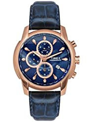 TIMEX MENS CHRONOGRAPH BLUE DIAL WATCH